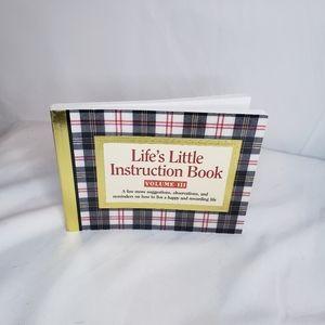 Lifes little instruction book mini book